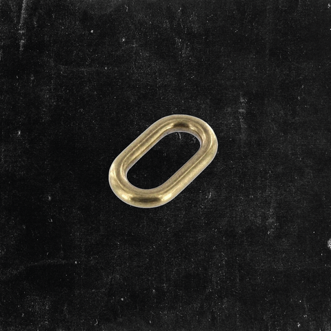 Single Loop Antique Brass 3/4""
