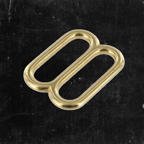 Double Loop Solid Brass 1 1/4""