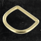 D-Ring Solid Brass 1 1/4""