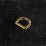 Bow D-Ring Antique Brass 1/2""