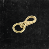 Swivel Lever Snap Solid Brass 1/2""