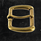 Roller/Heel Bar Buckle Antique Brass 1 1/2""