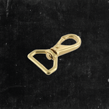 Mini Swivel Lever Snap Solid Brass 3/4""