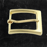 Heel Bar Buckle Solid Brass 1 1/4""