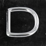 D-Ring Nickel Plated 1 1/4""