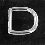 D-Ring Nickel Plated 1 1/2""