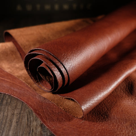 Horween Leather - Bison Apache Brown 4-4.5oz