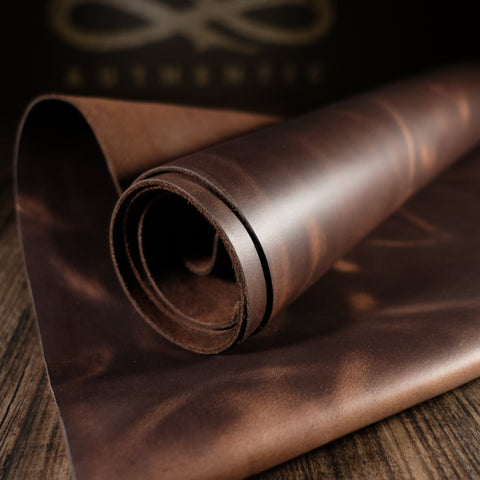 Horween Leather - Chocolate Prowler 4-5oz