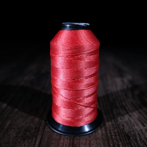 Black Crown Thread - Candy Apple Red (1/4 lb Spool)