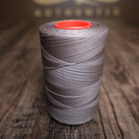 Tiger Waxed Polyester Thread - Dark Grey