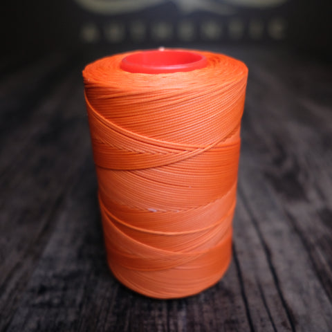 Tiger Waxed Polyester Thread - Orange
