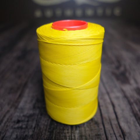 Tiger Waxed Polyester Thread - Yellow