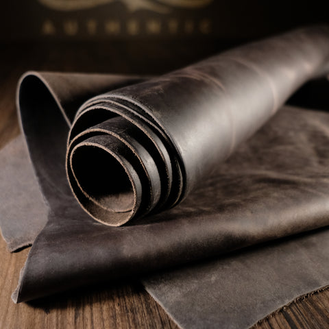 Horween Leather - Retriever Charcoal 4-5oz