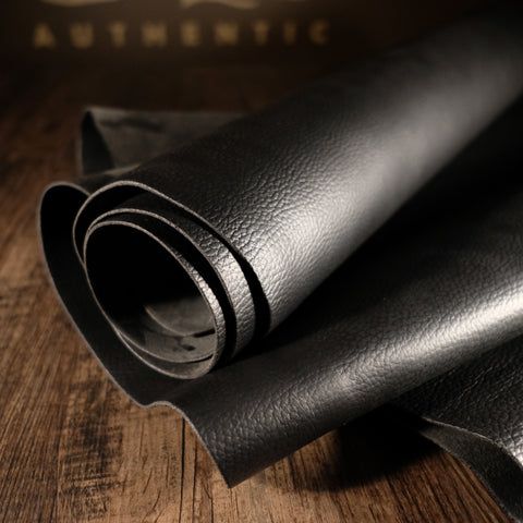 Horween Leather - Driftwood Black 5-6oz