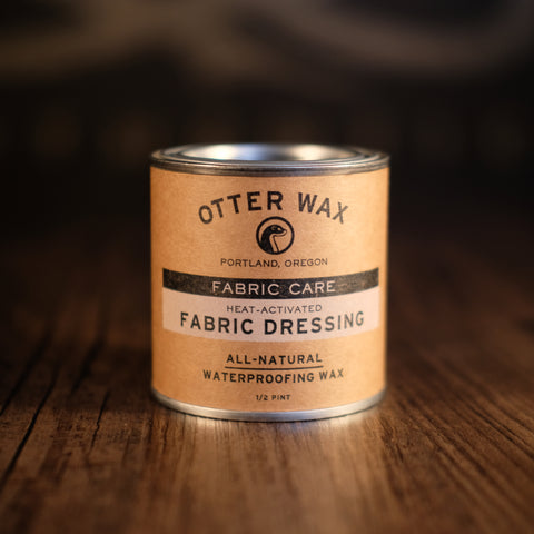 Otter Wax - Fabric Care Heat-Activated Fabric Dressing 1/2 pint