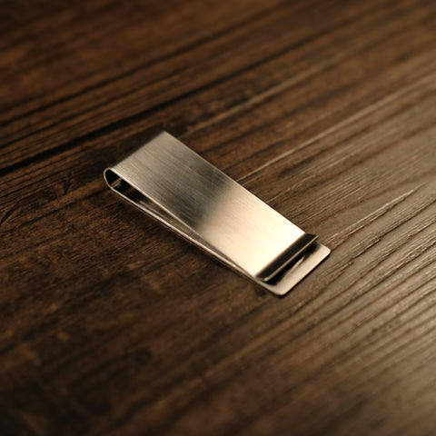 Money Clip - Stainless Steel Brushed