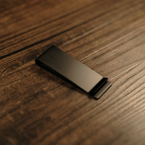 Money Clip - Matte Black