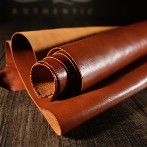 Sepici Leather - Spade Milled Brandy 4-5oz