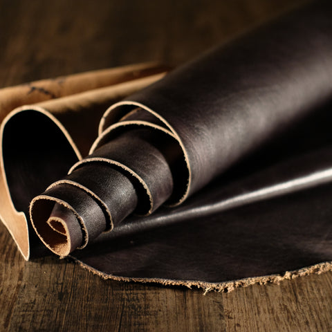 Horween Leather - Black Imperial 3-4oz