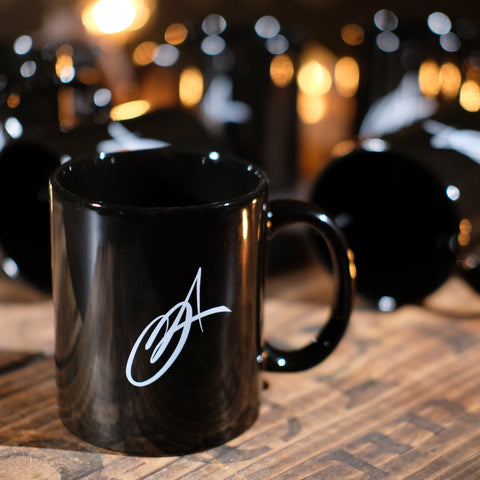 Ceramic Mug - Black 11oz
