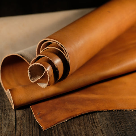 Horween Leather - Dublin Light English Tan 5-5.5oz