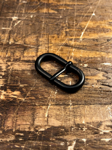 Wire Form Buckle Black PVD Matte 22mm