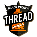 Black Crown Thread - #277 Brown 1/4 lb Spool