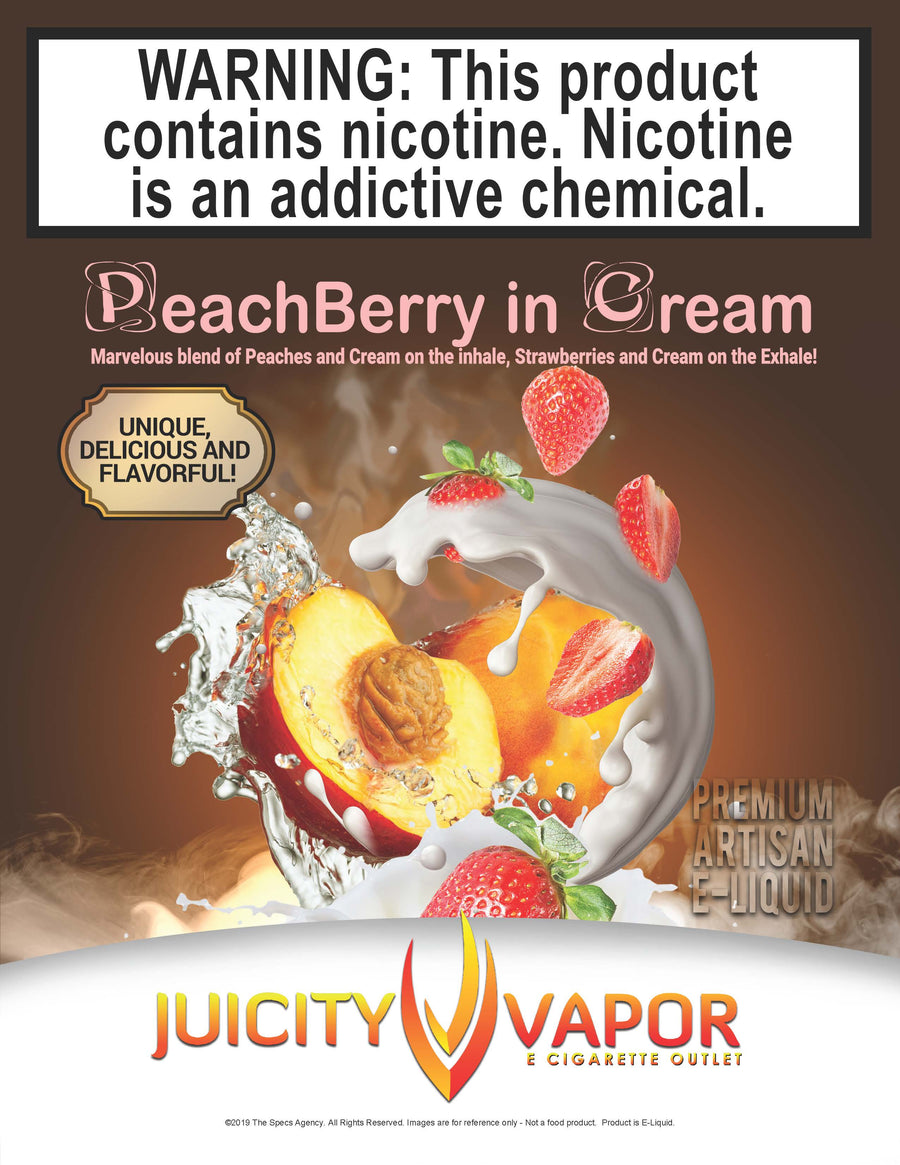 Peachberry in Cream