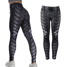 Load image into Gallery viewer, Sexy High Waist Fitness Iron weave Leggings Women Fitness Workout Scrunch Booty - LadyBeast
