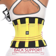 Load image into Gallery viewer, Fitness Belt Xtreme Power Thermo Body Shaper Waist Trainer Trimmer Corset - LadyBeast