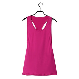 Sexy Women's Tank Quick Drying Loose Breathable Fitness Sleeveless Top - LadyBeast