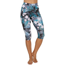 Load image into Gallery viewer, 3/4 Yoga Pants women Calf-length Pants Capri Pant Sport leggings Women Fitness Yoga Gym High Waist Leggins Black Drop Shipping - LadyBeast