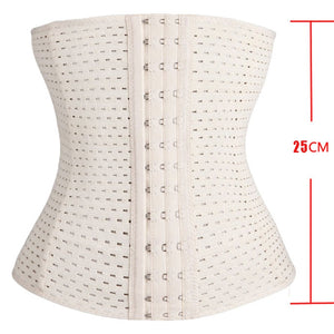 Women Waist Cincher Slimming Belt Waist Trainer Corset For Weight Loss Tummy Control - LadyBeast
