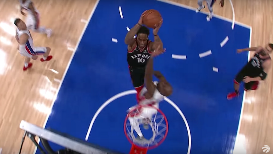 DeMar DeRozan for 2018 NBA Dunk of the YEAR?