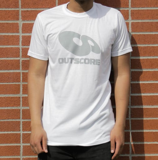 FeatherLite Back To Basic Tee White Comfortable T-shirt Bamboo Organic Cotton Men T-shirt Outscore T-shirt Made in Canada Eco-Friendly White Long T-shirt