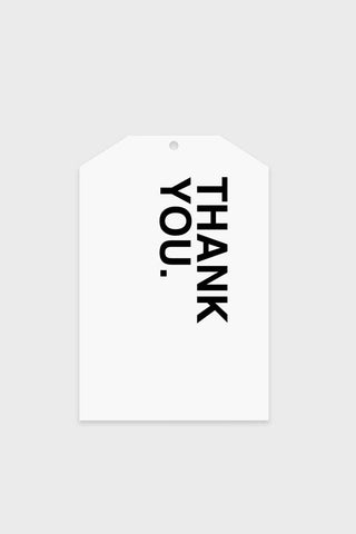 Gift Tag - Bold Thank You