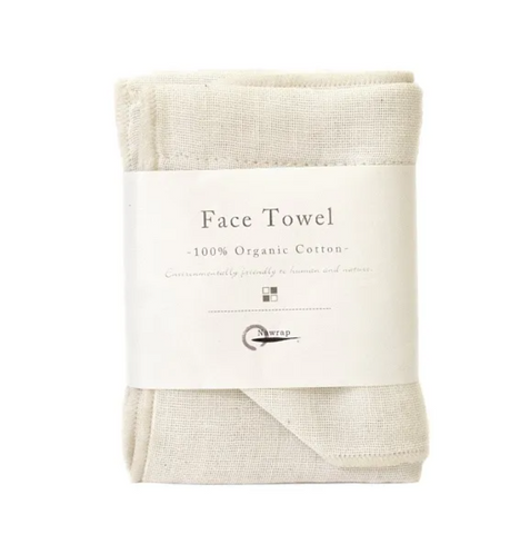 Organic Face Towel