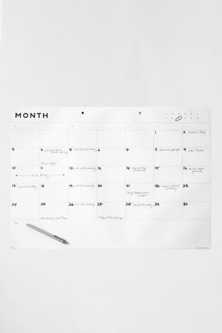 Father Rabbit A2 Month Planner