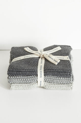 Washcloths - Grey