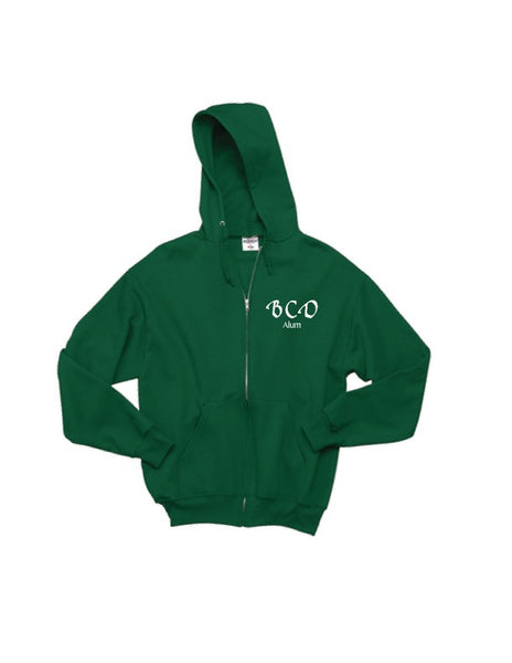 BCD Alumni Full-Zip Hooded Sweatshirt