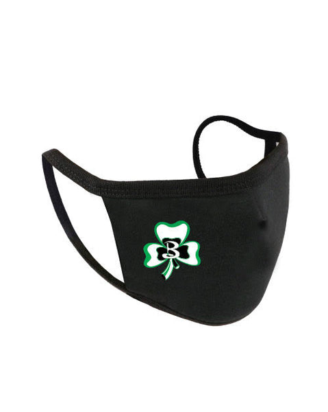 Berrien Springs Shamrocks Face Mask