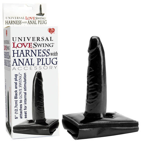 Universal Love Swing Harness With Anal Plug