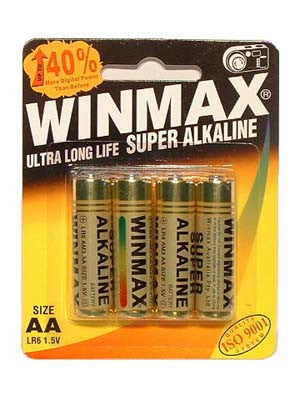 Winmax Aa Super Alkaline Batteries