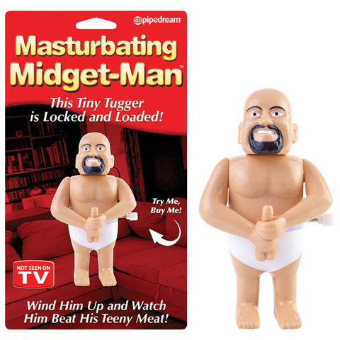 Masturbating Midget Man