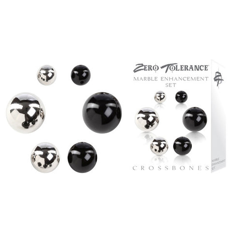 Crossbones Marble Enhancement Set