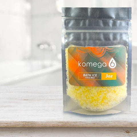 Citrus Bliss - Scented Mediterranean Bath Salt (single-serve pack set)