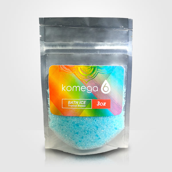 Tropical Breeze - Scented Mediterranean Bath Salt (single-serve pack set)