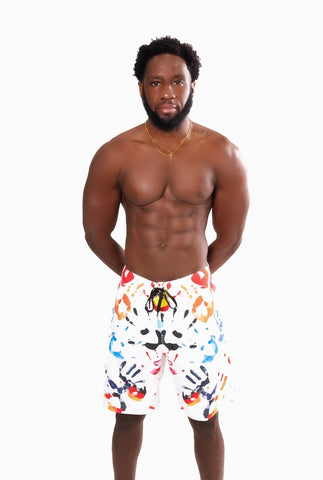 HANDPRINT BOARD SHORTS