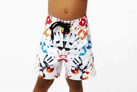 Kids Handprint Board Shorts