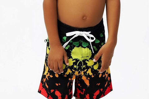 Kids Live Irie Board Shorts